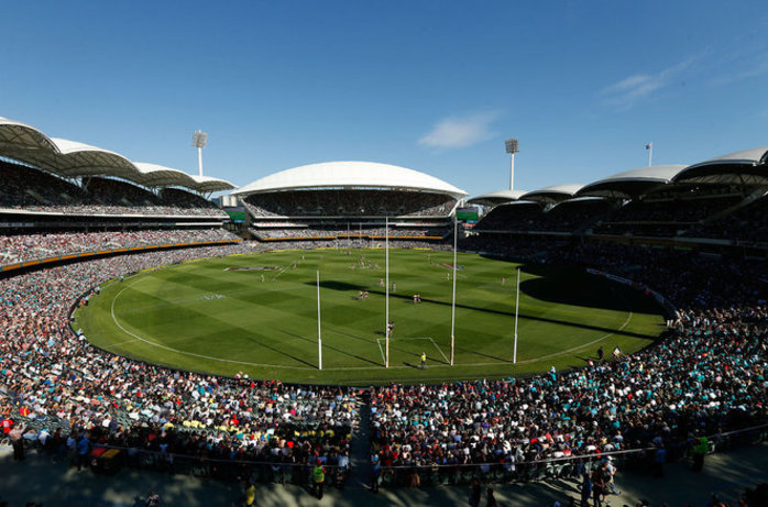 AFL Sunday Funday at Adelaide Oval