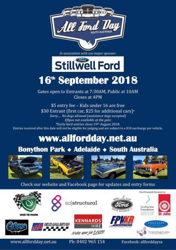 All Ford Day SA 2018