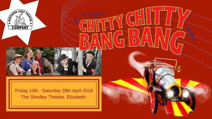 Chitty Chitty Bang Bang at The Shedley Theatre
