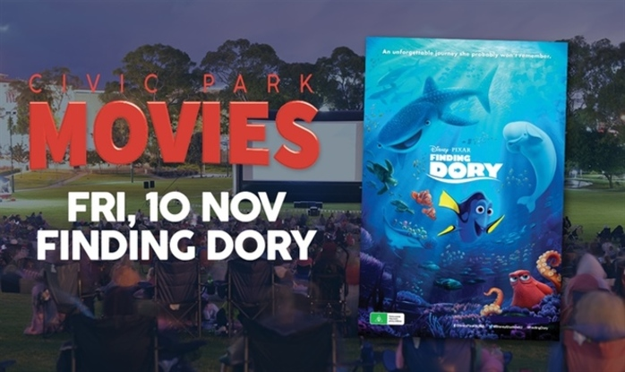 Civic Park Movies present Finding Dory