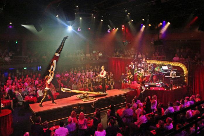 Club Swizzle at The Space Theatre