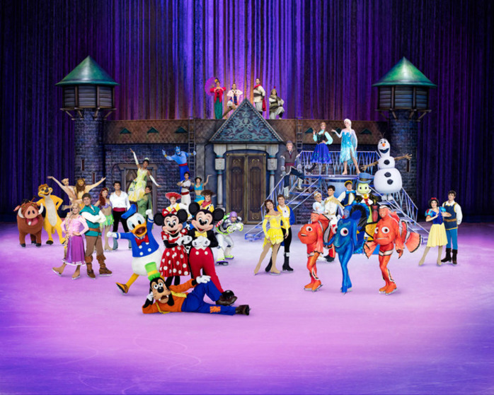 Disney On Ice Celebrates 100 Years of Magic Tour