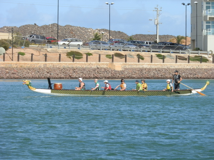 Dragon Boat Battles at Wallaroo