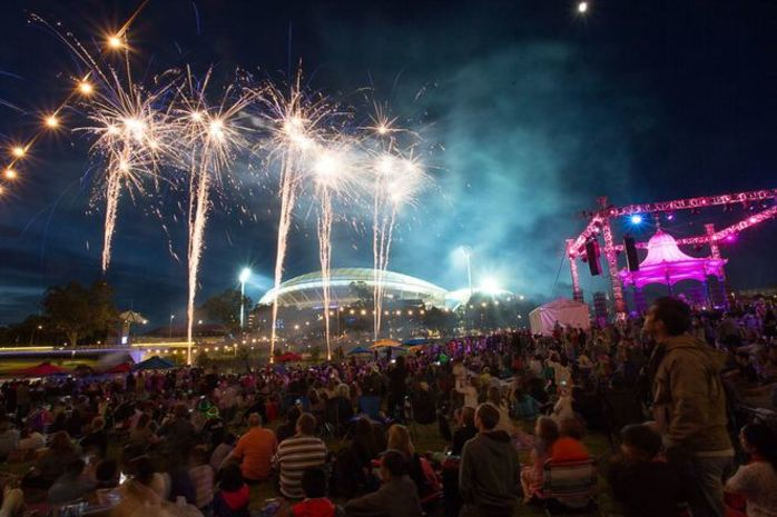 Free New Year's Eve Concert at Elder Park
