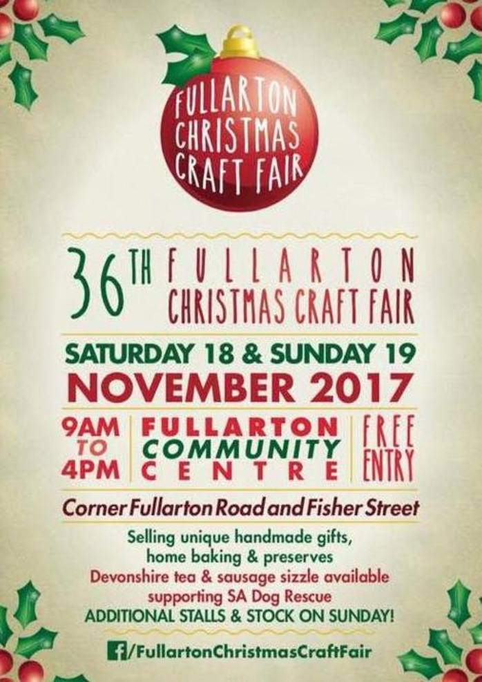 Fullarton Christmas Craft Fair
