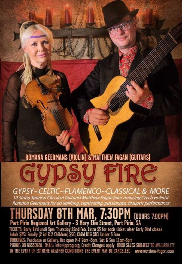 Gypsy Fire at Port Pirie