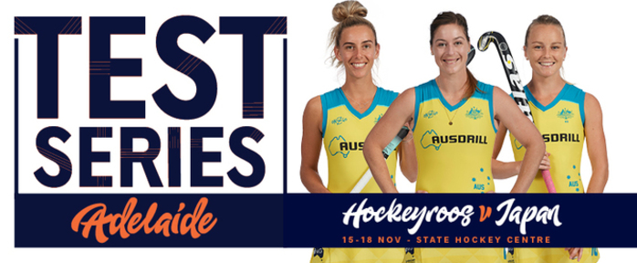 Hockeyroos v Japan Test Series