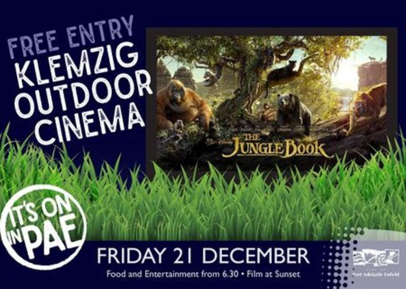 Klemzig Outdoor Cinema - The Jungle Book - Klemzig Outdoor Cinema - The Jungle Book