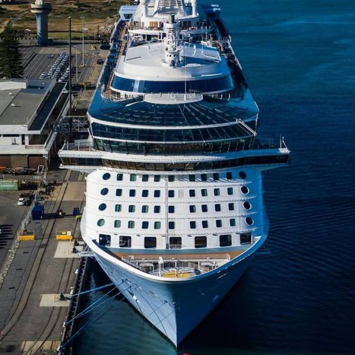 Ovation of the Seas in Adelaide