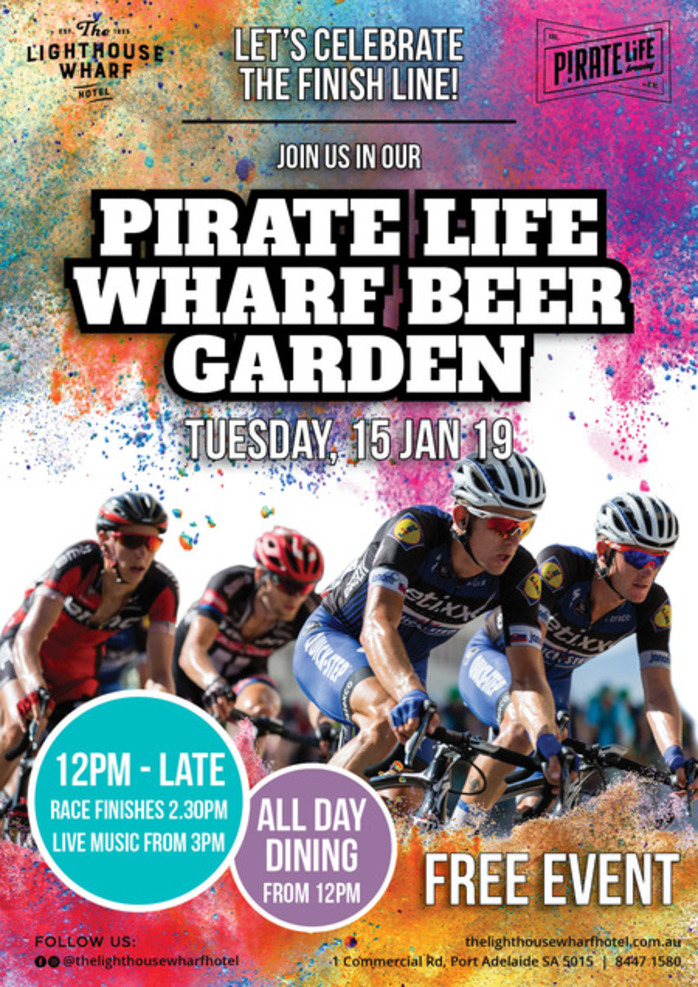 Pirate Life Wharf Beer Garden