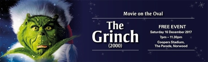 The Grinch - Free Movie on the Oval